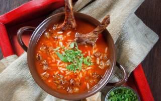 Суп харчо в мультиварке Редмонд