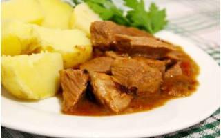 Как приготовить гуляш из говядины в мультиварке Редмонд и Поларис? Лучшие рецепты с фото