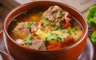 Как приготовить хашламу из говядины