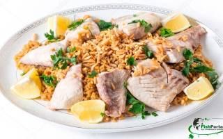 Как приготовить рыбу с рисом