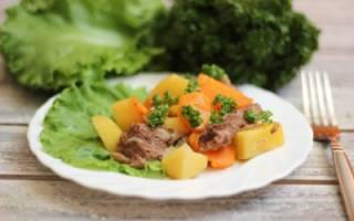 Как приготовить баранину с овощами