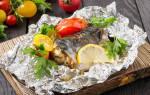 Как приготовить скумбрию в духовке в фольге