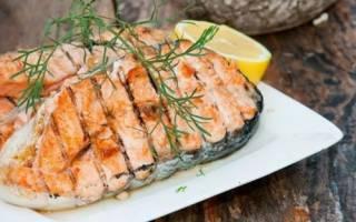 Сколько запекать лосось в духовке в фольге