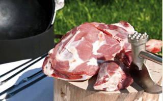 Как приготовить мясо в казане
