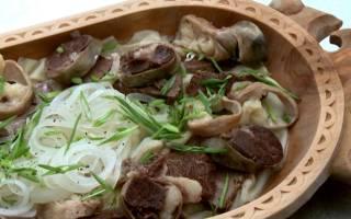 Как приготовить бешбармак из баранины