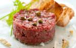 Как приготовить тартар из говядины