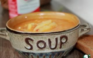 Итальянский суп с чечевицей и пастой в мультиварке