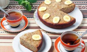 Вкусный банановый пирог в мультиварке