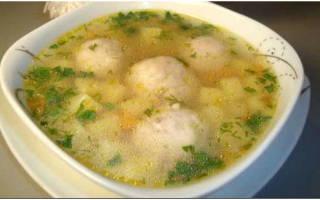 Суп с фрикадельками в мультиварке Поларис