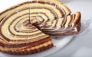 Торт зебра в мультиварке