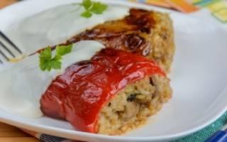Рецепты блюд из перца в мультиварке
