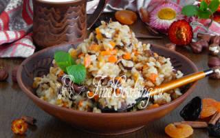 Рецепты блюд из кураги в мультиварке