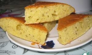 Cырный пирог в мультиварке