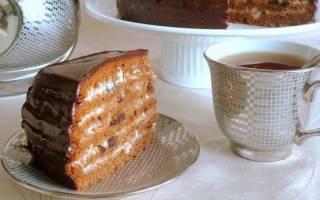Классический торт-медовик в мультиварке