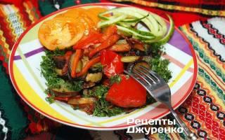 Как приготовить овощи на сковороде