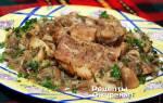 Как приготовить куриное филе с шампиньонами