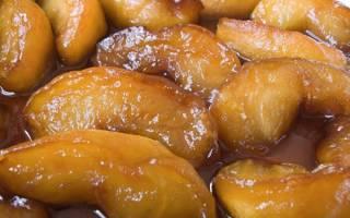 Как карамелизовать яблоки на сковороде