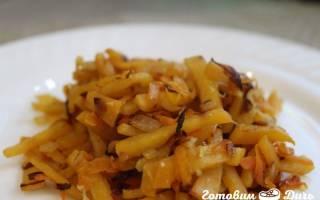 Как приготовить репу на сковороде