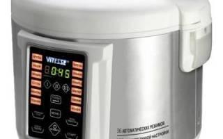 Мультиварка Vitesse VS-3013: характеристики, цены и отзывы