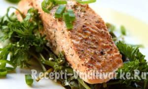 Рецепты блюд из лосося в мультиварке