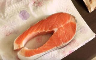 Как пожарить стейк лосося