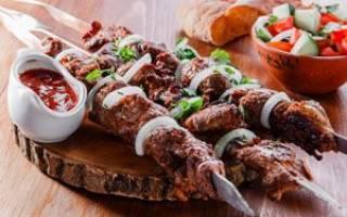 Рецепт шашлыка из свинины по кавказски