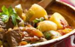Как приготовить в мультиварке гуляш из говядины и пряной зелени