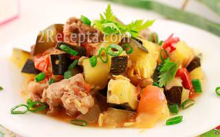 Кабачки с мясом в мультиварке – рецепт как приготовить