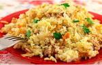 Как приготовить рис с фаршем в мультиварке