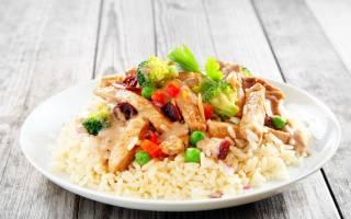 Как приготовить курицу с рисом