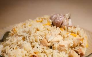 Как приготовить плов из курицы в казане