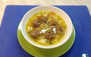 Вкусный суп с фрикадельками в мультиварке