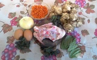 Весенний суп из крапивы в мультиварке