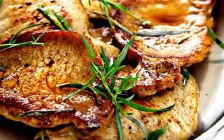Как приготовить эскалоп из свинины на сковороде