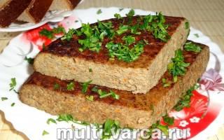 Рецепты суфле из печени в мультиварке