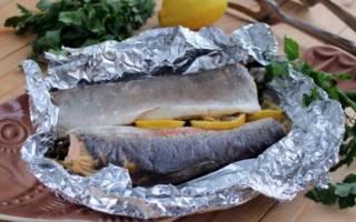 Рыба в фольге в мультиварке с сыром и грибами