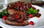 Как приготовить говядину в фольге