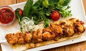 Куриный шашлык калорийность
