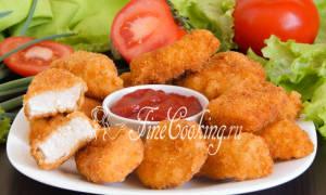 Как приготовить наггетсы из куриной грудки
