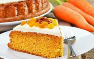 Морковный пирог в мультиварке
