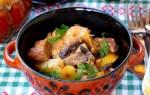 Что приготовить из свинины и грибов