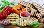 Как приготовить овощи гриль на сковороде гриль