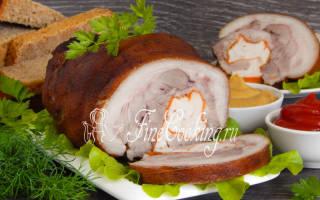 Как сделать рулет из свиной рульки