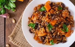 Как приготовить рис без мяса