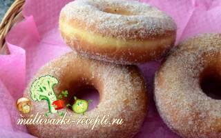 Рецепты пончиков в мультиварке