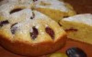 Пирог на скорую руку в мультиварке