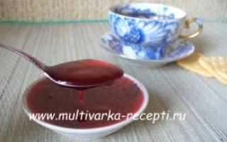 Рецепты блюд из красной смородины в мультиварке