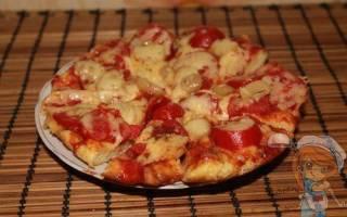 Как приготовить пиццу без колбасы