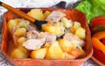 Тушеная картошка в мультиварке Филипс
