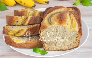Американский банановый хлеб в мультиварке